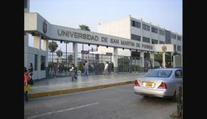 10. Universidad Particular San Martín de Porres.